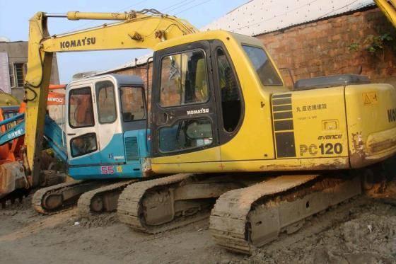 Used KOMATSU Excavator PC120-6