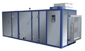 Assembly type AHU