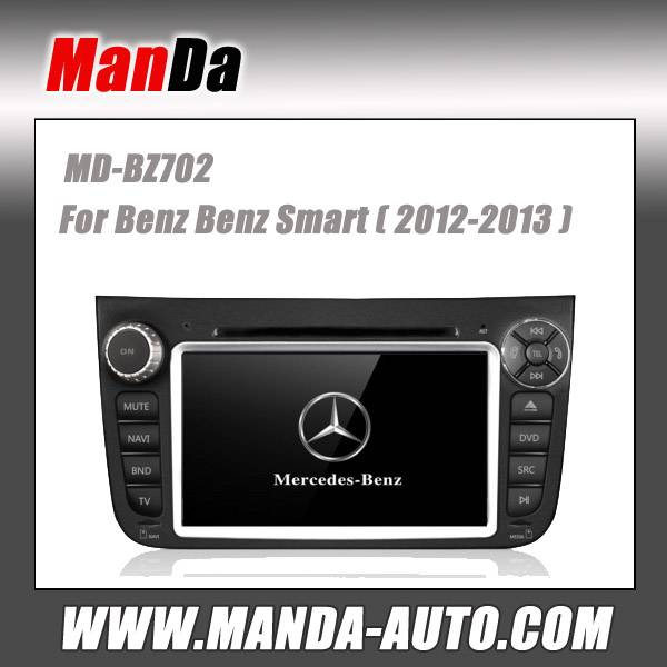 car gps navigation for Benz Smart (2012-2013) in-dash head unit touch screen dvd player multim