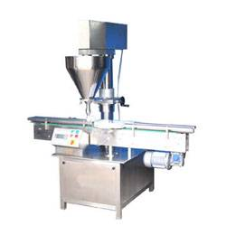 Dry Syrup powders filling Machine or powder dispenser