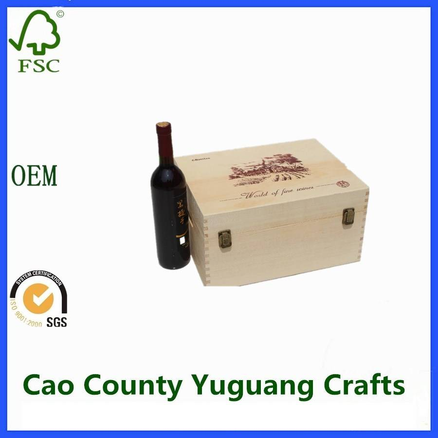 Wooden Boxes For Wine Bottles Wooden Wine Boxes For Sale