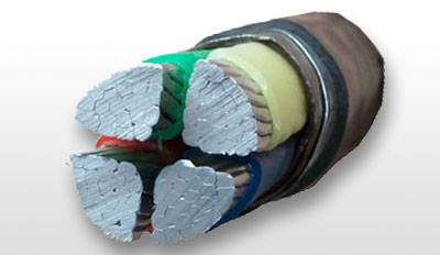 PVC Insulated Steel Tape Armored Power Cable