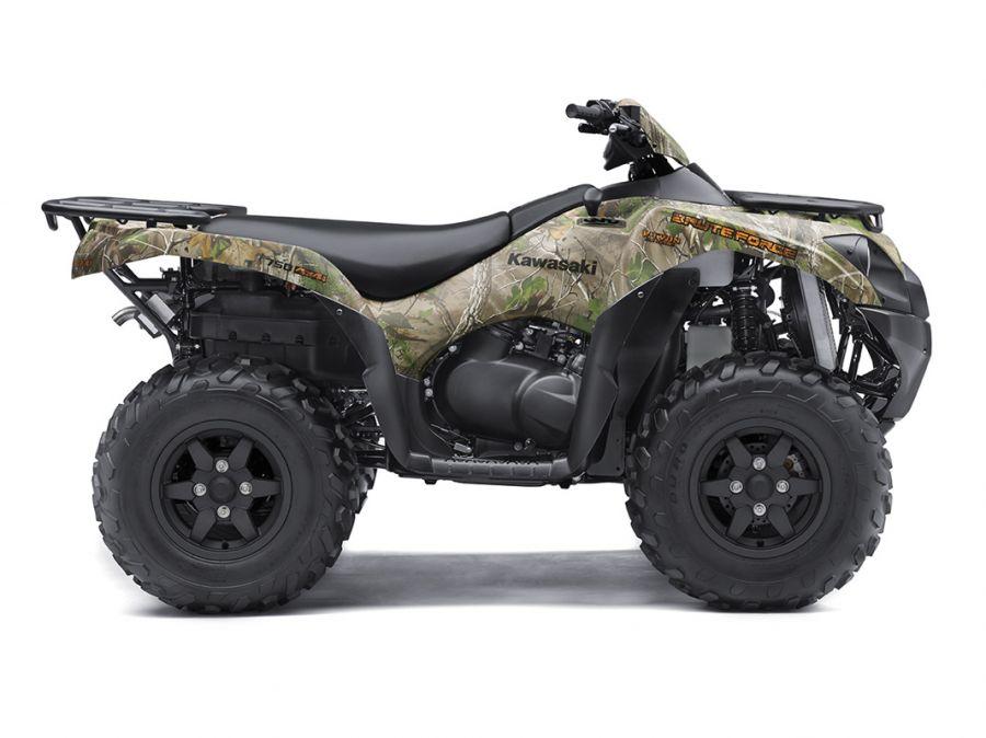 2017 Kawasaki Brute Force® 750 4x4i EPS Camo