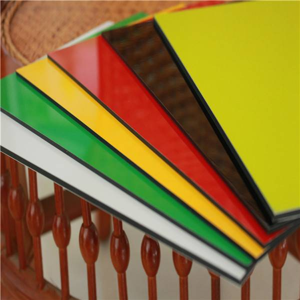 3mm aluminum composite panel for advertising board building material supplier