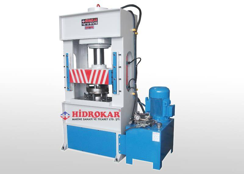 hydraulic deep drawing press 200 tons workshop type