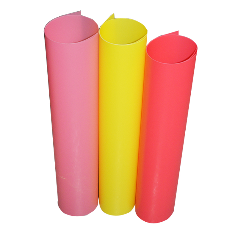 0.8mm Hard Thick Plastic Colored PET Sheet Roll For Vacuum Forming