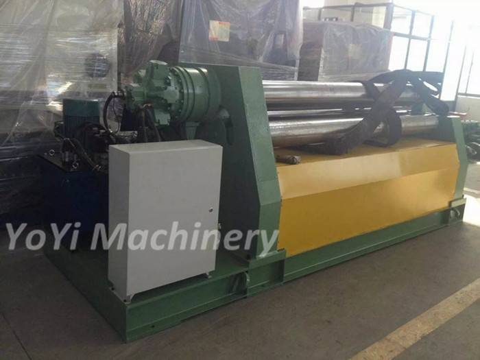 W12-20mm 2000mm four roll plate roll machine