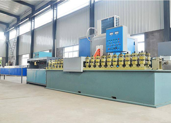 Insulating glass spacer bar production line