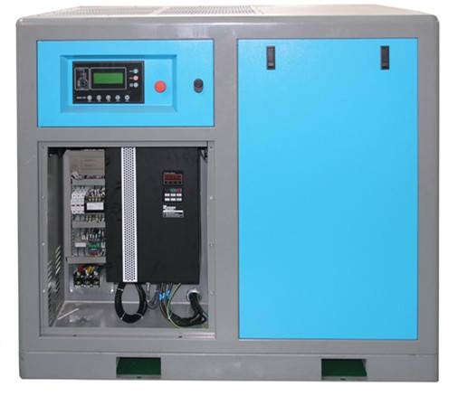 22kw variable frequency direct driven screw air compressor