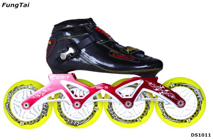 Inline Skate 110mm Wheels Speed Shoes for Men Women (DS1011)