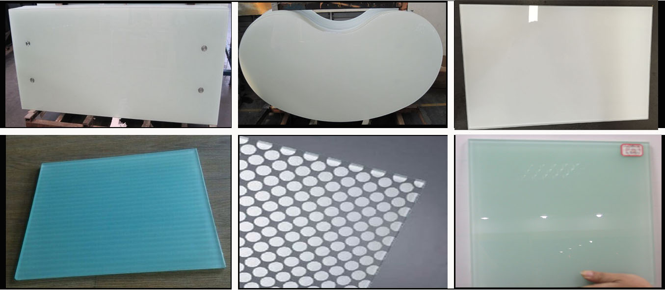 sell the SGCC certification of printed colored glass for furniture