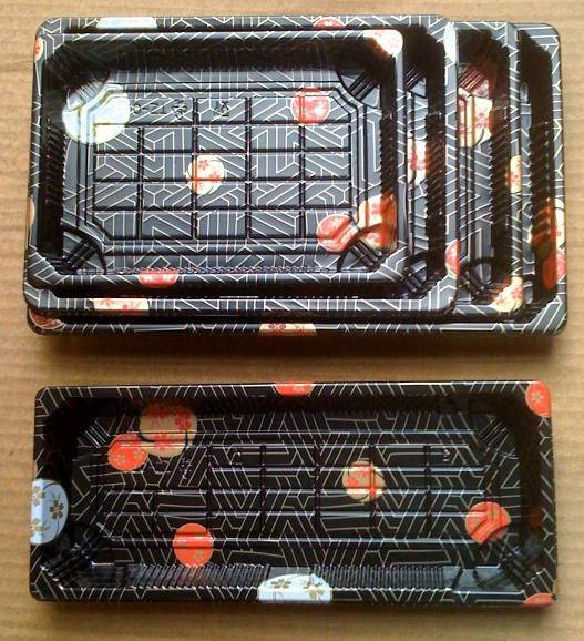 sushi take out container