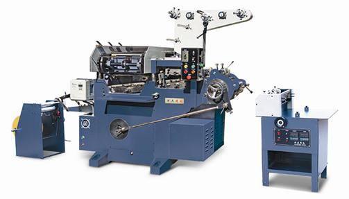 Mechanical Flat-bed Label Printing Machine
