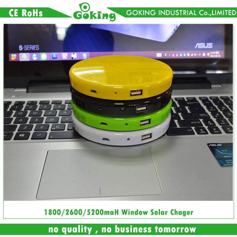 2015 high quality and new design of solar battery charger