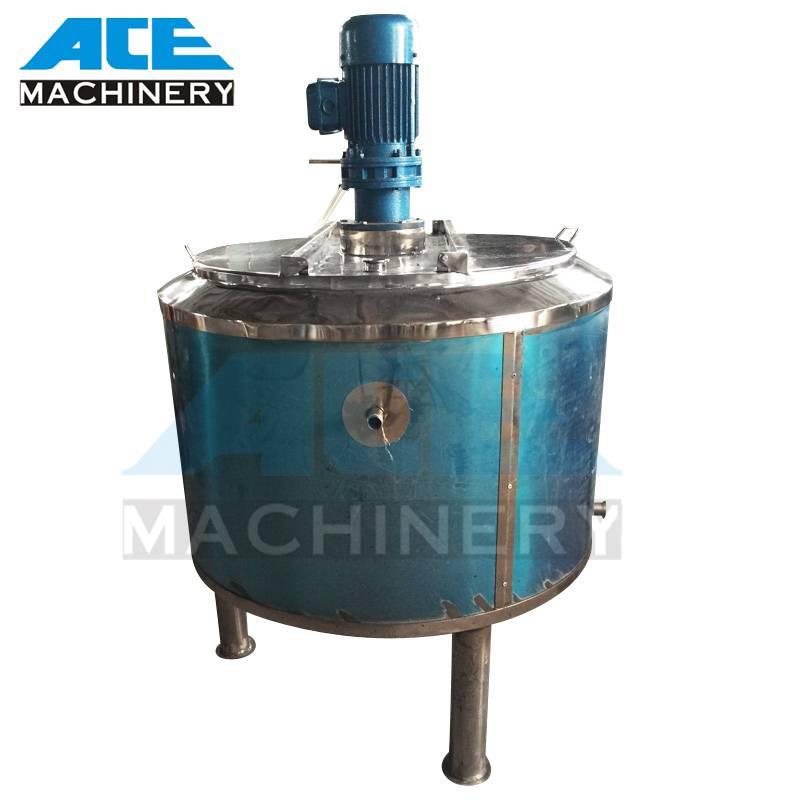 Double Open Lid Shanmpoo Mixing Tank