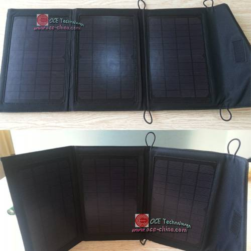 Foldable Solar Charger Backpack For Mobile Phone