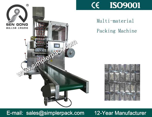 Automatic Multiple Lanes Grain and Powder Filling and Packing Machine
