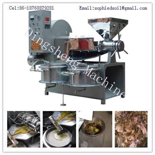 Soybean Screw Oil Press Machine and Sesame Oil Cold Press Machine