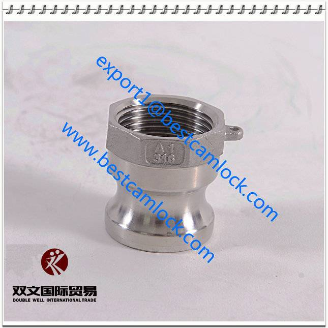 Stainless steel camlock coupling type A
