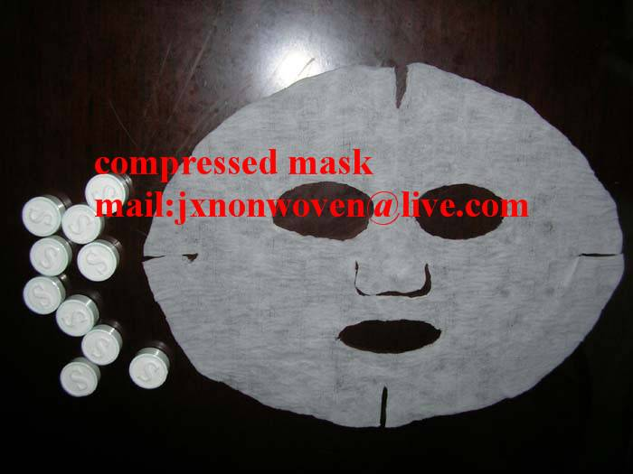 Spunlace nonwoven compressed mask / magic mask / disposable towel