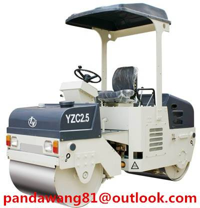 chinese 2.5tons Tandem Vibratory roller