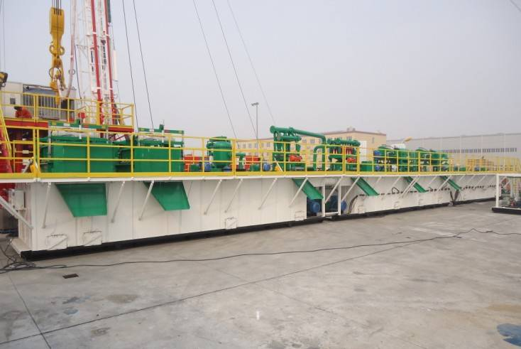 drilling fluid solid control system