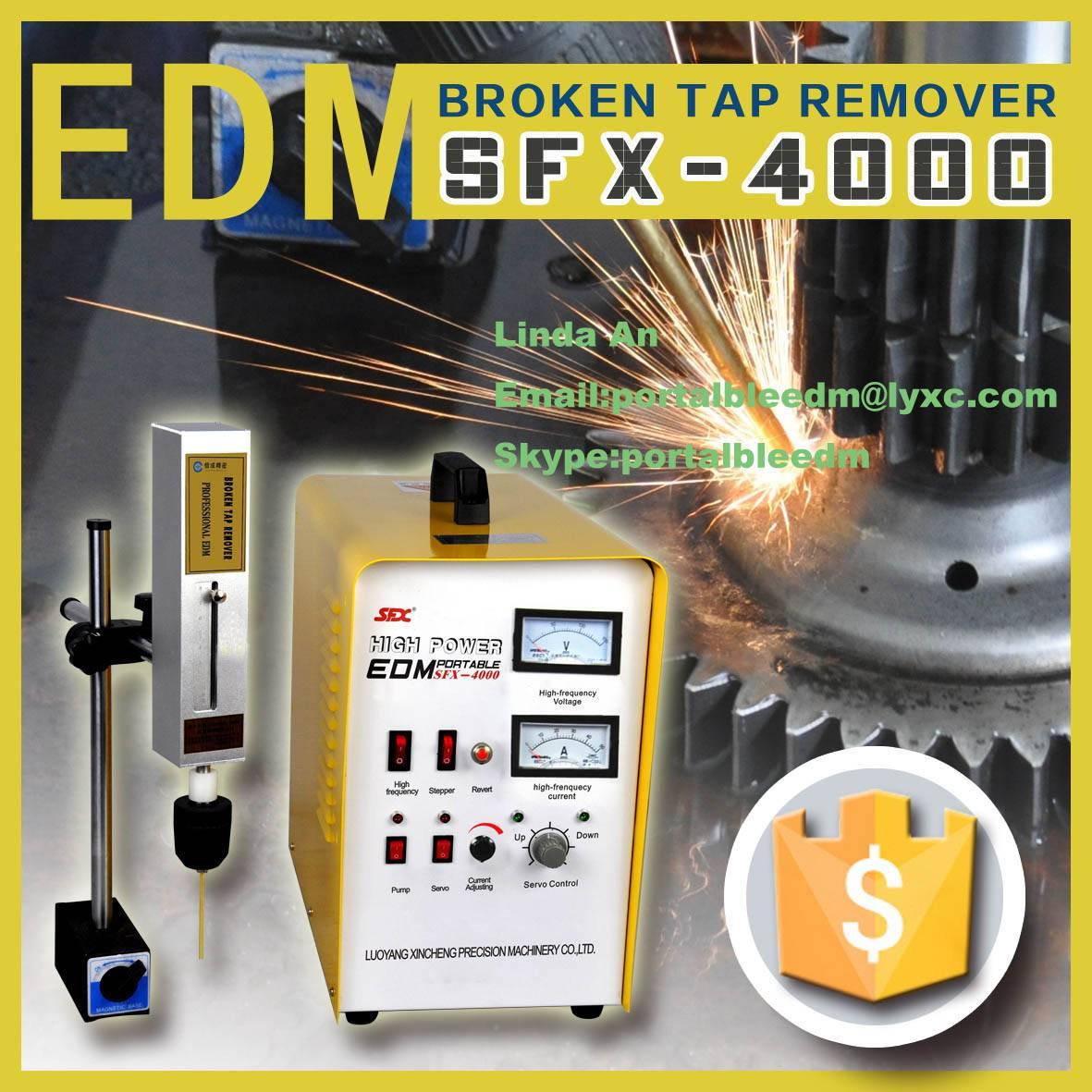 3000w small hole drilling edm machine