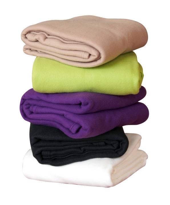 100% polyester polar fleece blanket