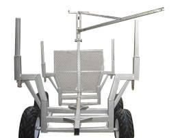 ATV Trailer, Timber Trailer, Trailer with Crane, All-Terrain Vehicle Wood Trailer