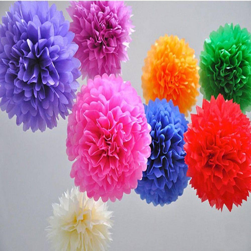Selling Nice color paper pom pom