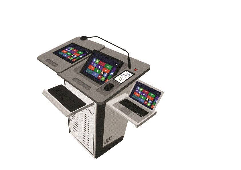 Digital Podium-PK-190D(Stand Dual)