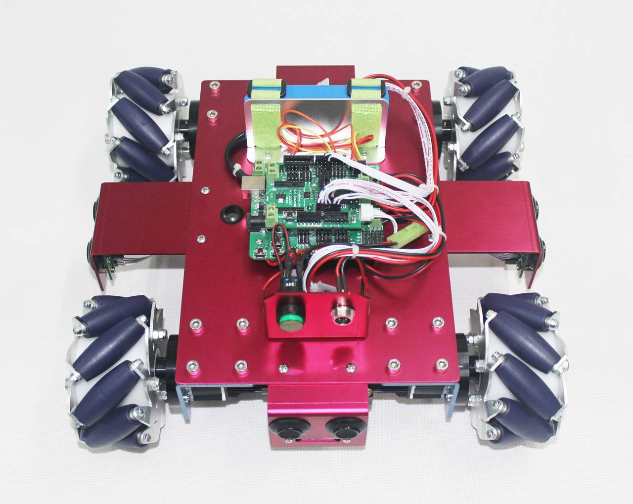 4WD Mecanum Wheel Beginner Mobile Robot Kit