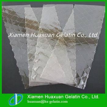 Pudding material leaf gelatin/gelatin sheet