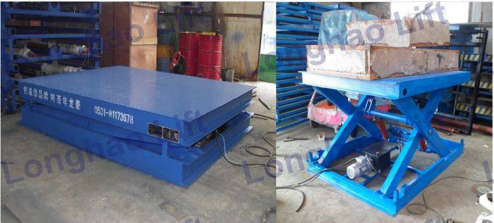 Low price 2.5T hydraulic small scissor lift table