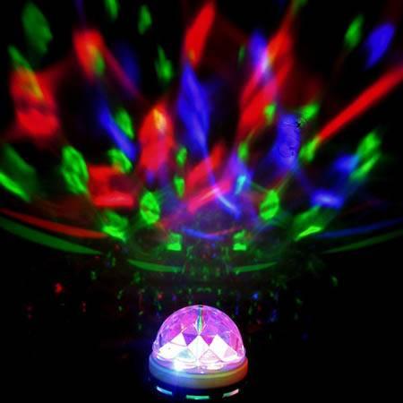 Disco Laser Stage Light LED Crystal Magic Ball Bulb