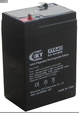 6V4AH lead acid battery for emergency light,toys,electronic scale