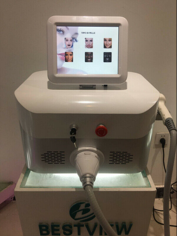 Newest 3-In-1 Diode Laser 755+808+1064nm Hair Removal Machine Spa Clinic Hospital Use