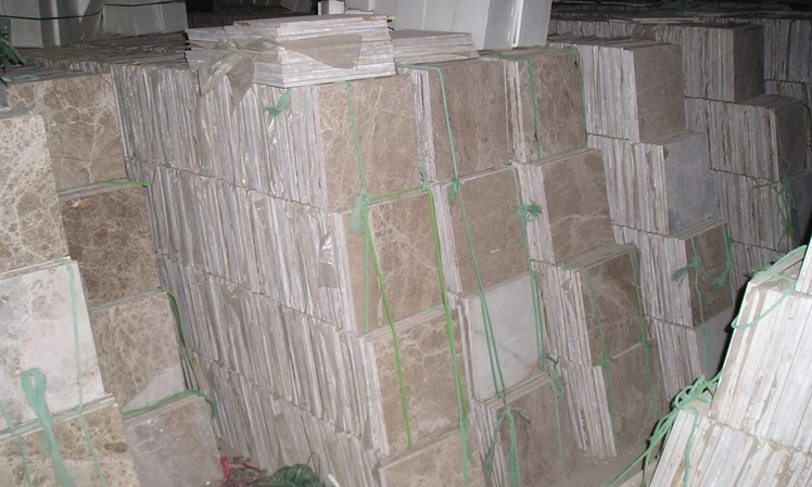 China local quarry beige marble tiles for sale