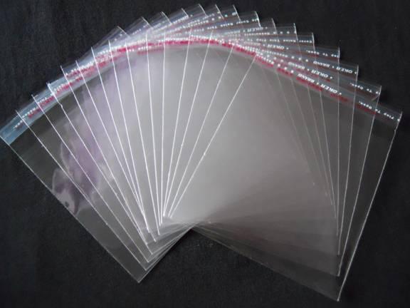 Sell Resealable BOPP Bags / BOPP Adhesive Bag