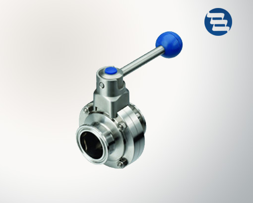 Sanitary Stainless Steel Tri Clamp Butterfly Valve
