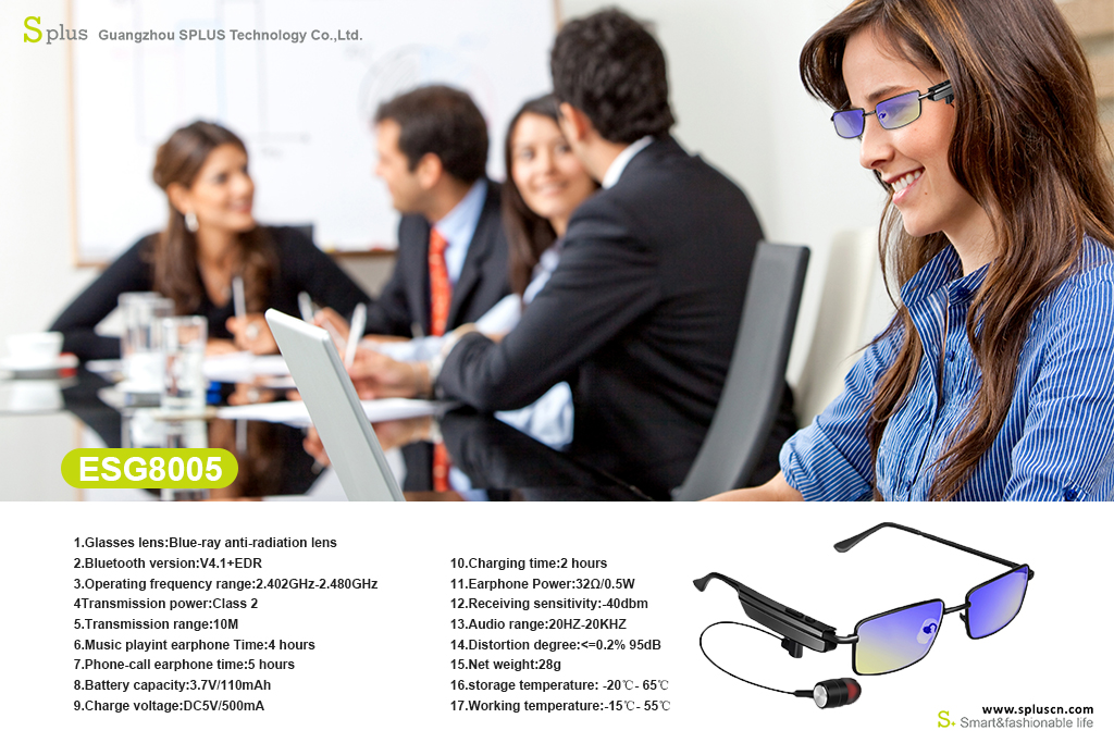Popular Bluetooth Sunglasses With Music Playing