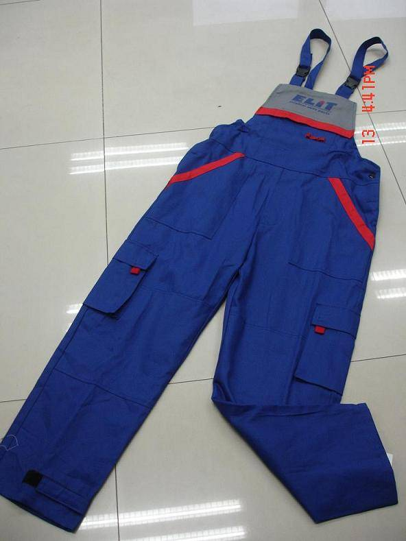Men's working bib pants/trousers