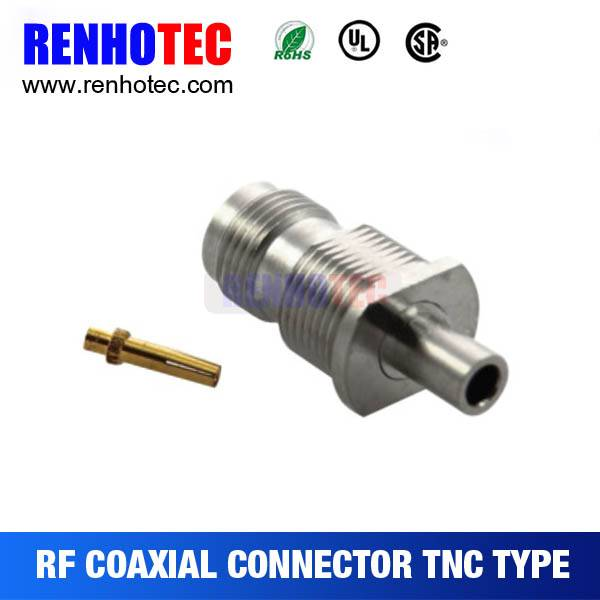 Solder Type TNC Jack Connector For Cable