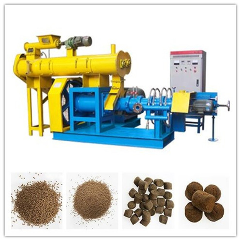 Wet Type Fish Feed Machine with 0.18-0.20t/h production