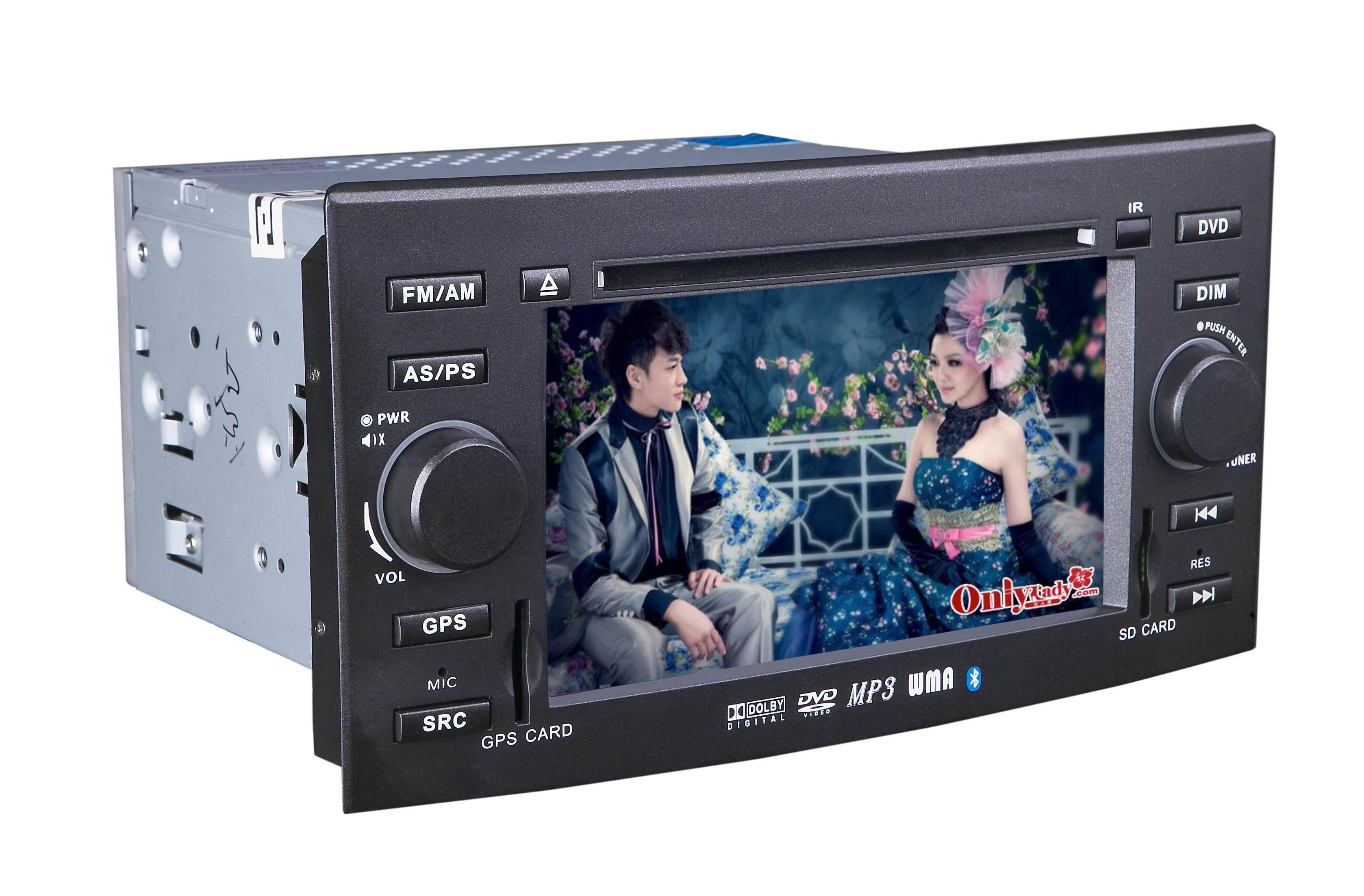 6.5 inch car GPS DVD player for Toyota-REIZ