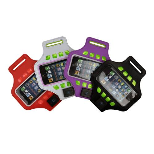 Led armband for iphone