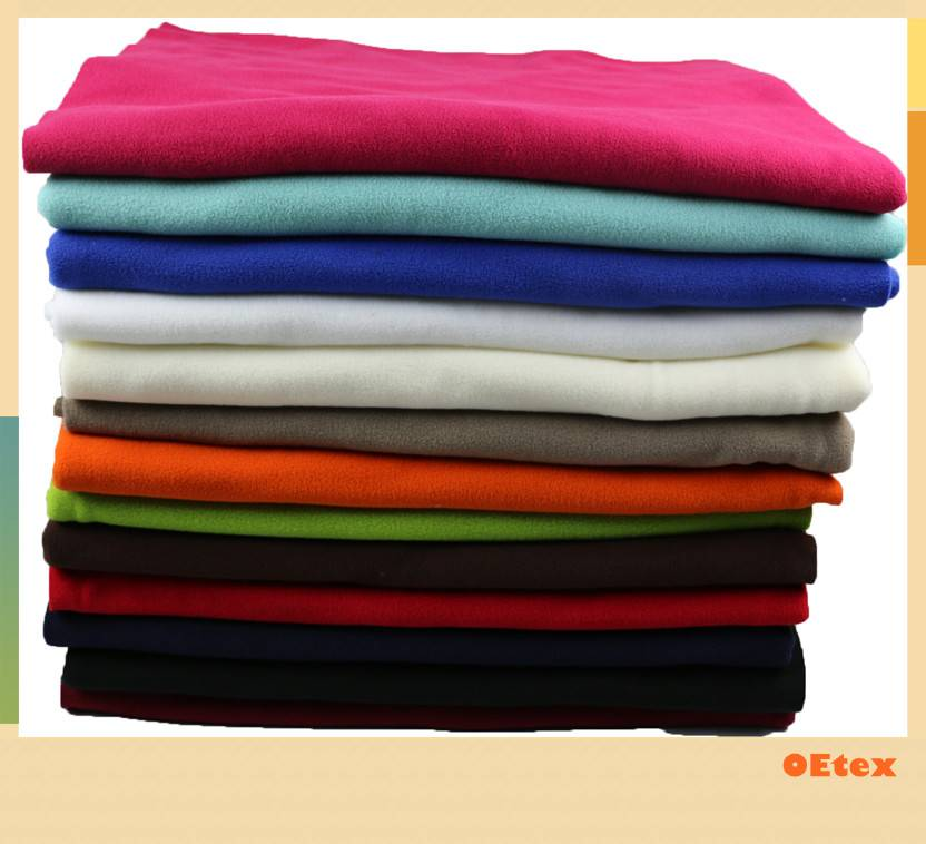 sell 100% polyester knitted polar fleece fabric