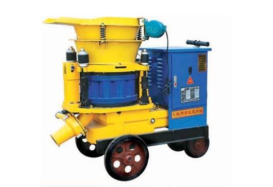 PZ-5 spray machine,pulp shooting machine, shotcrete machine, concrete injector cement gun