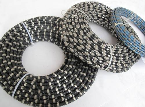 diamond beaded rope for cutting reinforced concrete