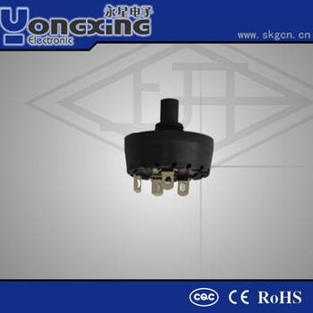 16A 250V AC ENEC17 CQC 16 position rotary switch